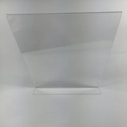 A4 T-Stand Acryl Glas