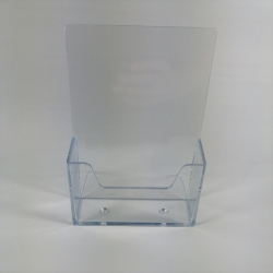 Single Pocket Menu Stand