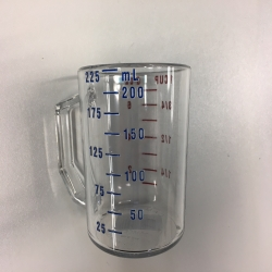 8 OZ 0,25L measuring cup / 8 OZ 0,25L Messbecher