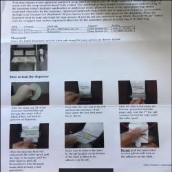 Subwrap Label Dispenser 2