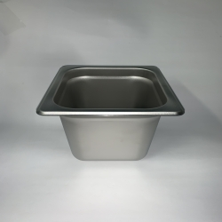 "1/6 SS Steam Table Pan 6""..."