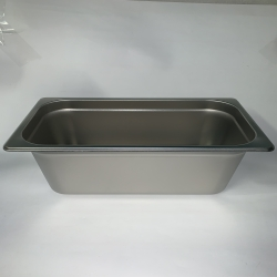 "1/3 SS Steam Table Pan 6"" Deep RTC (6 pcs.) available in 3-4 weeks"