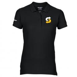 Polo Shirt woman black XL